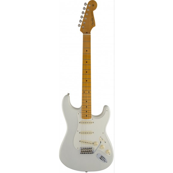 Eric Johnson Stratocaster white blonde with Maple fretboard