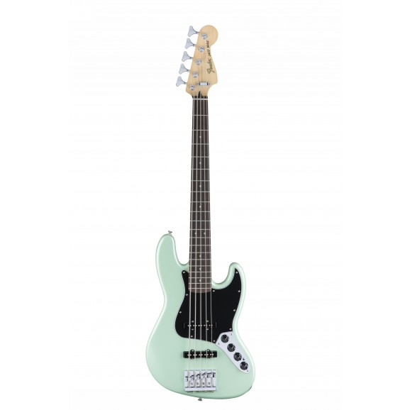 5 String Deluxe Active Jazz Bass V - Surf Pearl