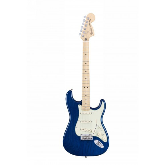 Deluxe Strat Electric Guitar - Sapphire Blue Transparent