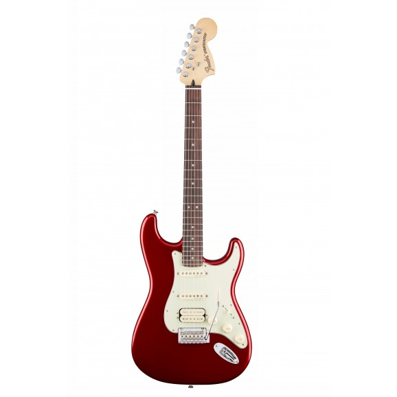 Deluxe Strat HSS Electric Guitar - Candy Apple Red
