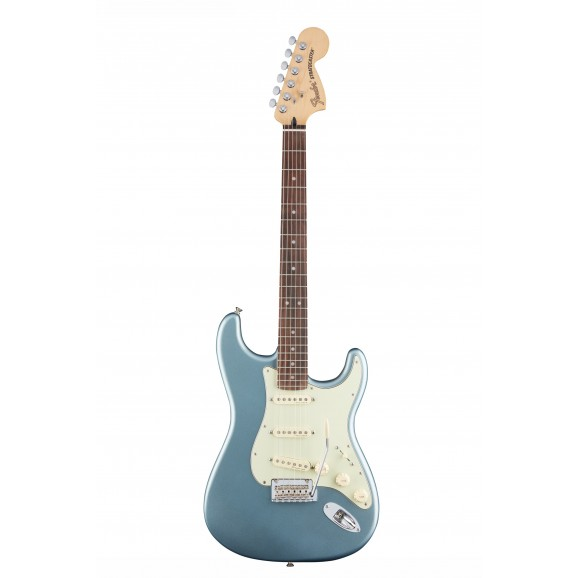 Deluxe Roadhouse Stratocaster - Mystic Ice Blue