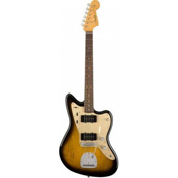 Fender 60th Anniversary Jazzmaster Electric Guitar with Rosewood in 2 Tone Sunburst