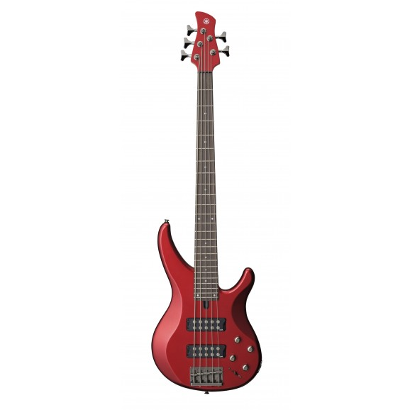 Yamaha TRBX305 5 String Electric Bass Candy Apple Red