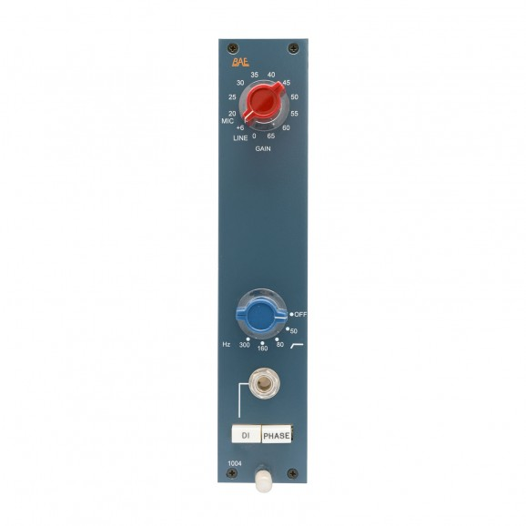 BAE 1004 Module Mic Preamp with Filter