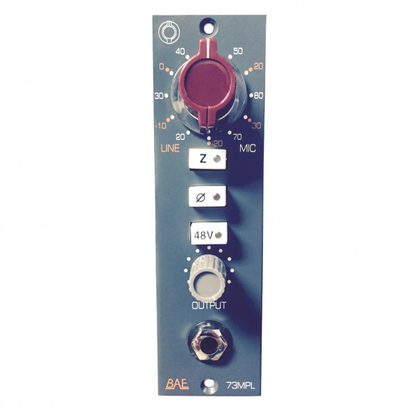 1073 MPL 500 Series Mic Preamp
