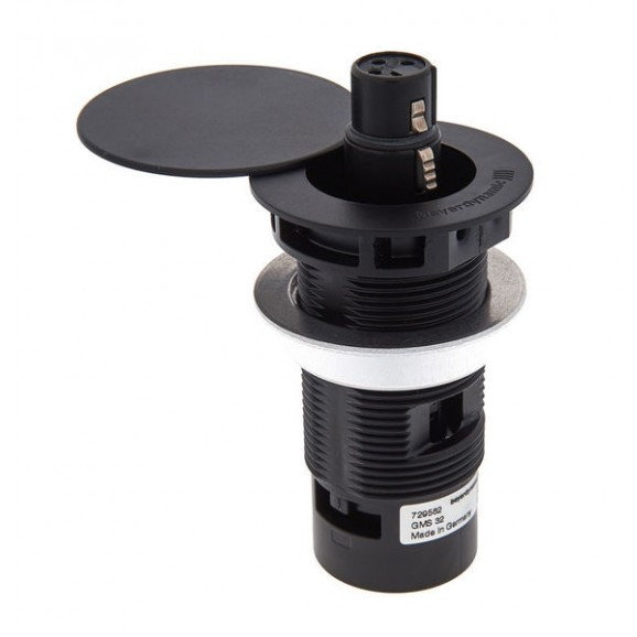 Beyerdynamic GMS32 Shock-mounted Installation Holder with Lid for Classis Microphones - Black