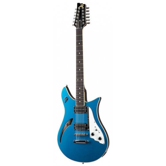 Duesenberg Double Cat 12 String Electric Guitar - Catalina Blue
