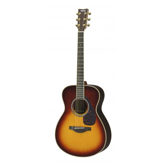 LS16 ARE Small Body Acoustic Electric Guitar - Brown Sunburst
