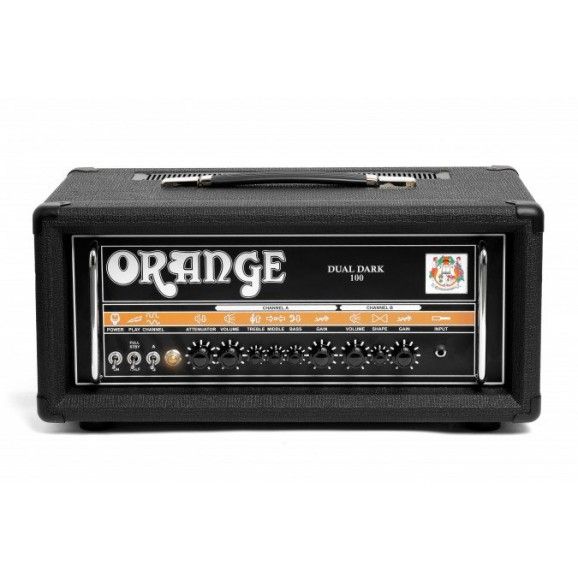 Dual Dark 100w High Gain Amp Head