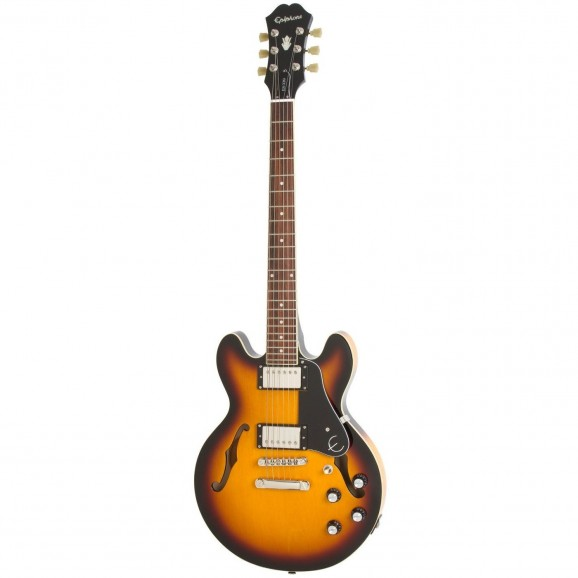 Epiphone ES-339 Hollowbody Electric Guitar in Vintage Sunburst