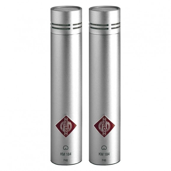 Neumann KM184 Studio Set (Pair) Nickel