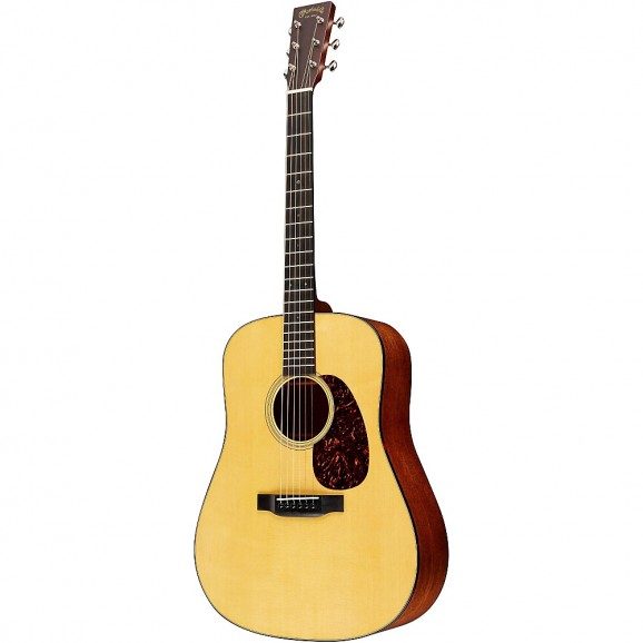 Martin D18 Standard Series Dreadnought Acoustic Guitar - Natural