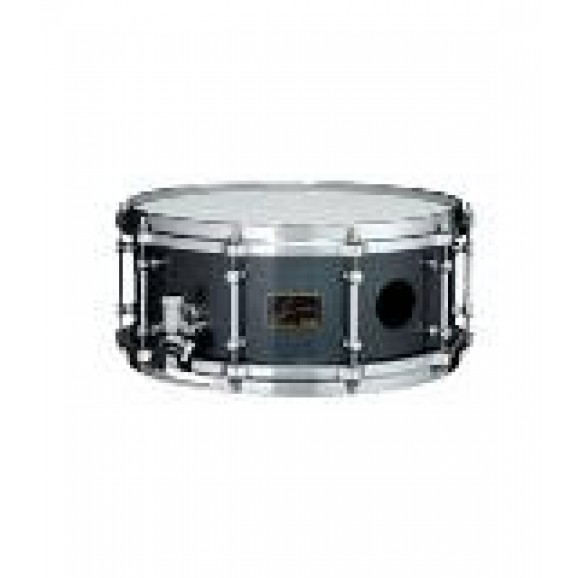 """Tama Abe Cunninghum Signature 6""""x14"""" Snare Drum Brass Shell with Big Vent Holes"""