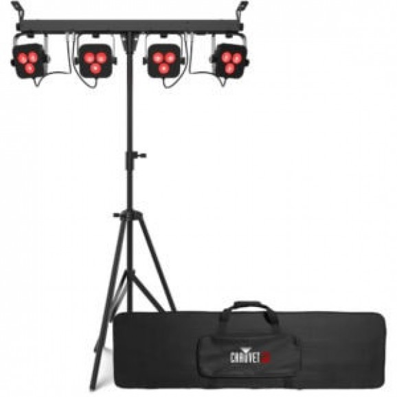 Chauvet DJ 4BAR LT QUAD BT Wash Lighting Set Bluetooth