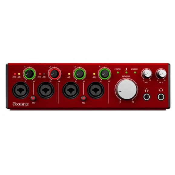 Focusrite Clarett 4Pre Audio Interface