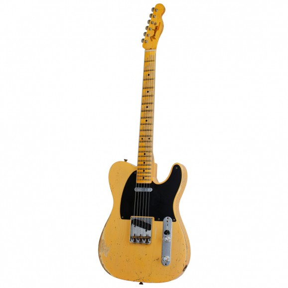 52 Telecaster Heavy Relic Blonde Electric Guitar