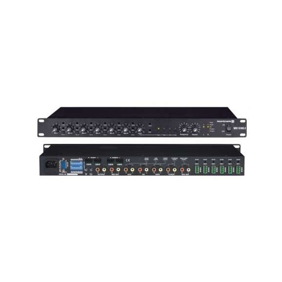 Beyerdynamic MIX10NG2 10 Channel Stereo Mixing System