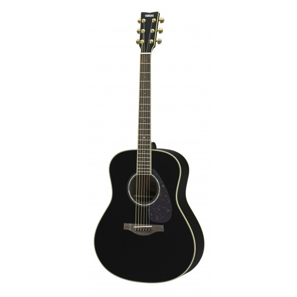 LL6-ARE Acoustic Electric Jumbo Black