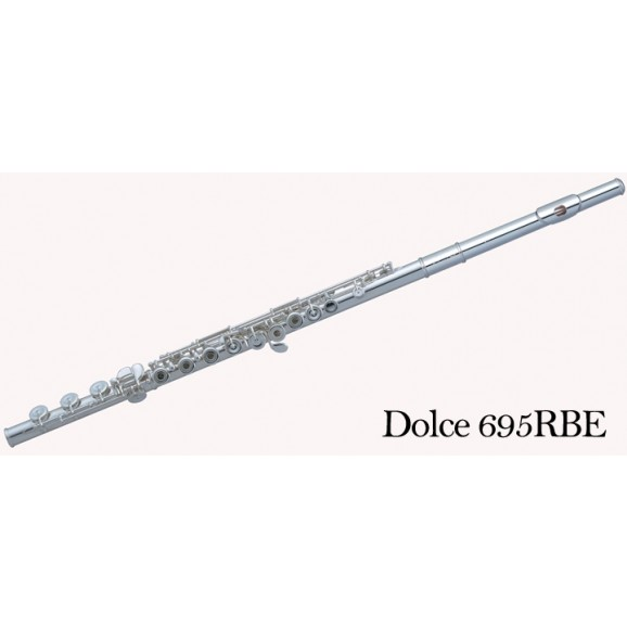 Pearl Flute - Dolce Vigore - P695RBEVGR - Solid Silver/Gold Plated Lip Plate
