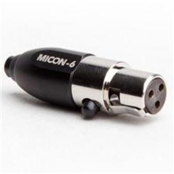 MiCon 6 Connector For Select AKG And Audix Devices