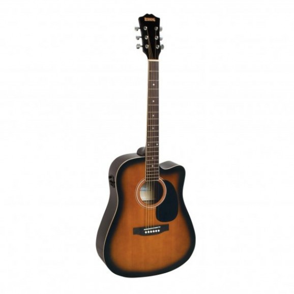 Redding RED50CETS Acoustic Electric Cutaway Tobacco Sunburst