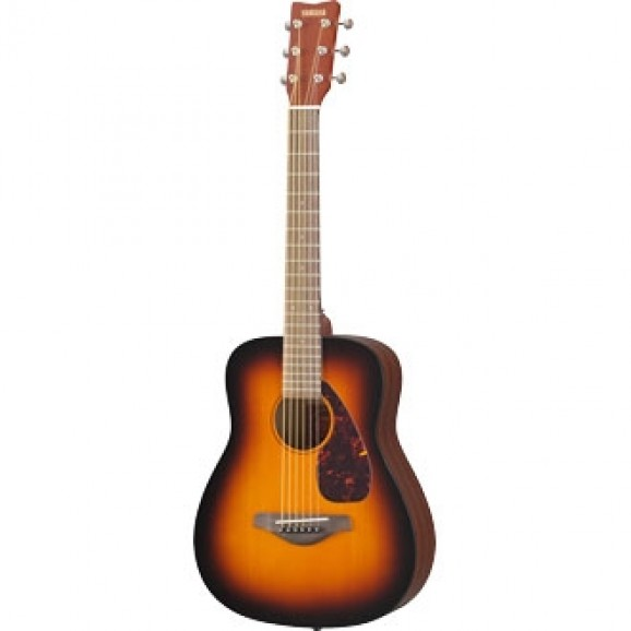 Yamaha JR2 Half Size Steel String Travel Guitar - Tobacco Brown Sunburst