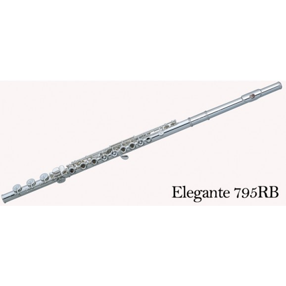 Pearl P795RBE Flute with Solid Silver Head, Body and B Foot