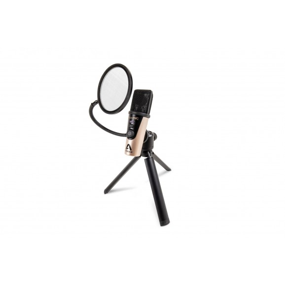 Apogee Hype Mic - USB Microphone with headphone out for iOS, Mac & Windows (including tripod & stand adapter)