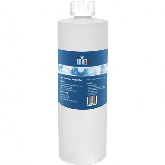Chauvet DJ BJ1 Bubble Machine Fluid – 1 Litre