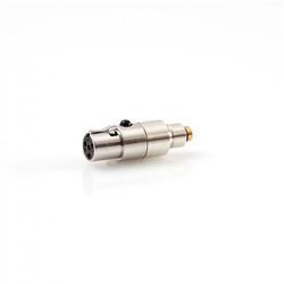 DPA Microphones - Adapter: Shure U1/UR1/UT1/SC1/SLX1/ULX1/GLXD1/ULXD1/QLXD1, Axient Digital, TOA WM4300, PGX1, Line 6 XD-V70L ( DPA DAD6010)