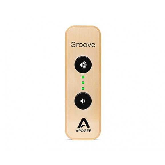 Apogee Groove Le-G - 30th Anniversary Gold edition USB DAC and Headphone Amp
