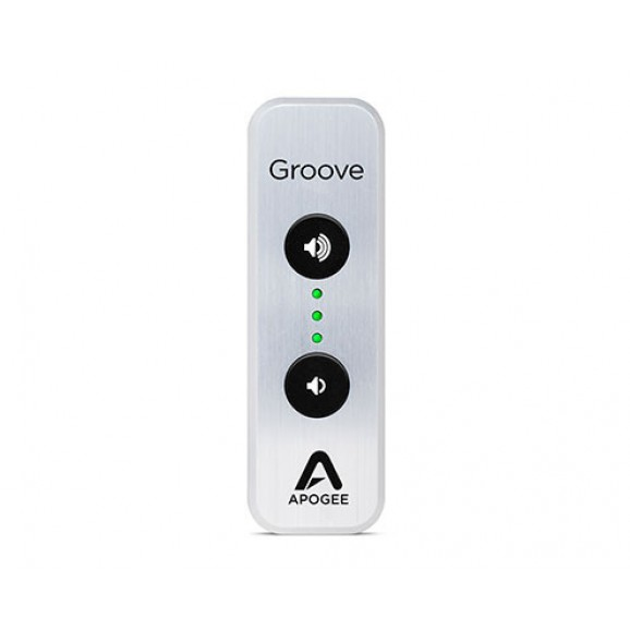 Apogee Groove Le-S - 30th Anniversary Silver edition USB DAC and Headphone Amp