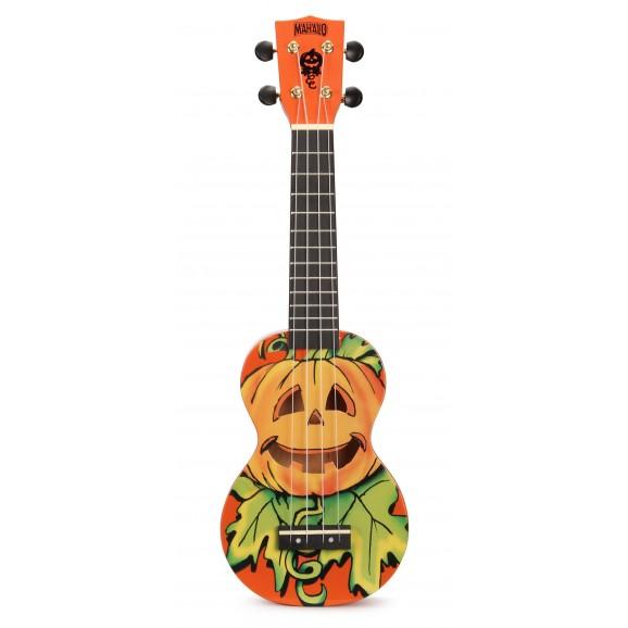 Mahalo MA1MAOR - Soprano Ukulele - Mahaloween - Orange