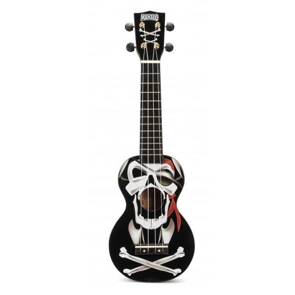 Mahalo MA1PIBK - Soprano Ukulele - Pirate - Black