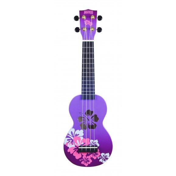Mahalo MD1HBPPB - Soprano Ukulele - Hibiscus - Purple Burst