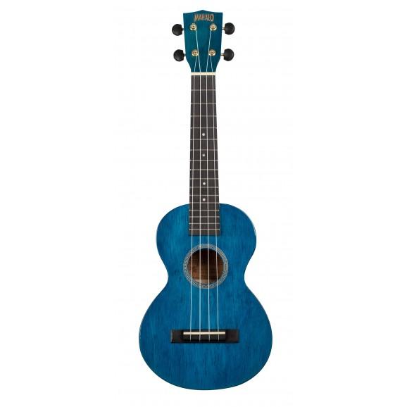 Mahalo MH2TBU - Concert Ukulele - Transparent Blue
