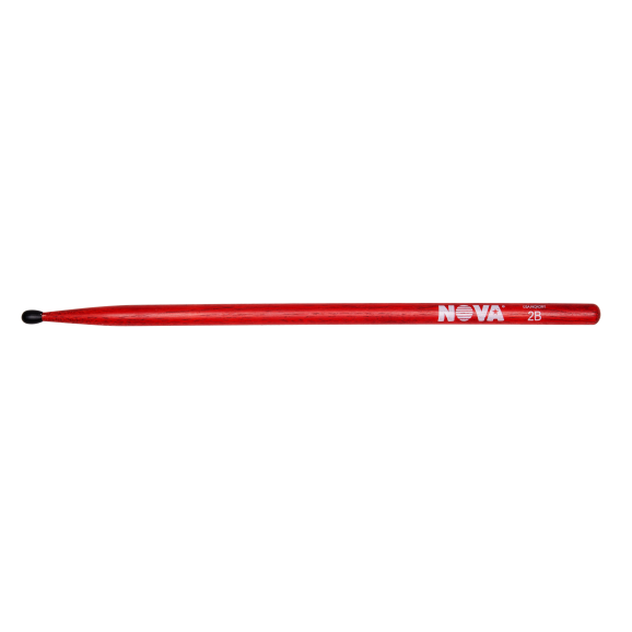 Vic Firth - 2BN in red with NOVA imprint Drumsticks