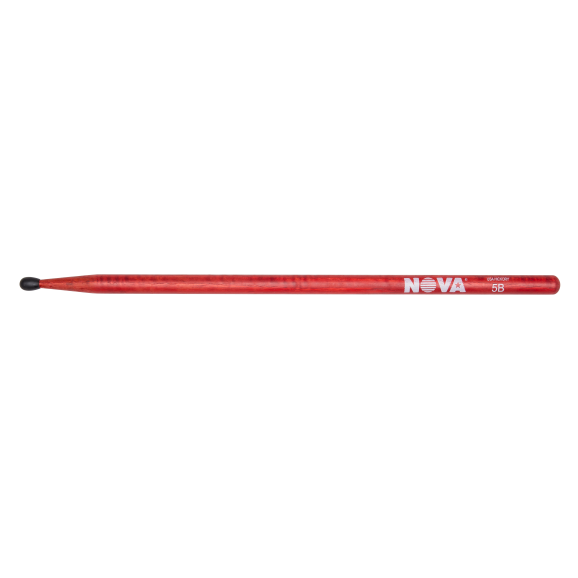 Vic Firth - 5BN in red with NOVA imprint Drumsticks