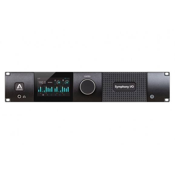 Apogee Sym2-16X16S2-A8Mp - Symphony I/O MKII Thunderbolt Chassis with 16 Analog In + 16 Analog Out + 8 Mic Pre Amp Module (Both slots populated)