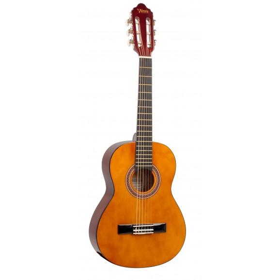 Valencia VC102 - 1/2 Size Classical Guitar - Gloss Natural