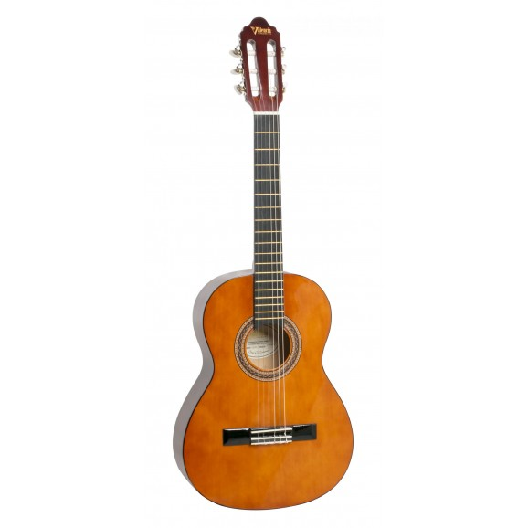 Valencia VC103L - 3/4 Size Classical Guitar - Left Hand - Gloss Natural