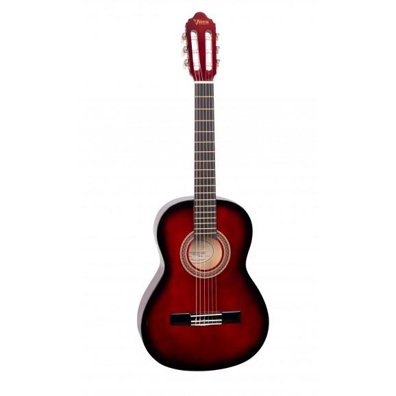 Valencia VC103RDS - 3/4 Size Classical Guitar - Gloss Red Sunburst