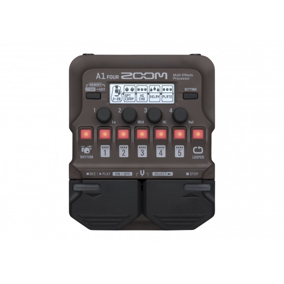 Zoom A1 Four Acoustic Instrument Effects Processor