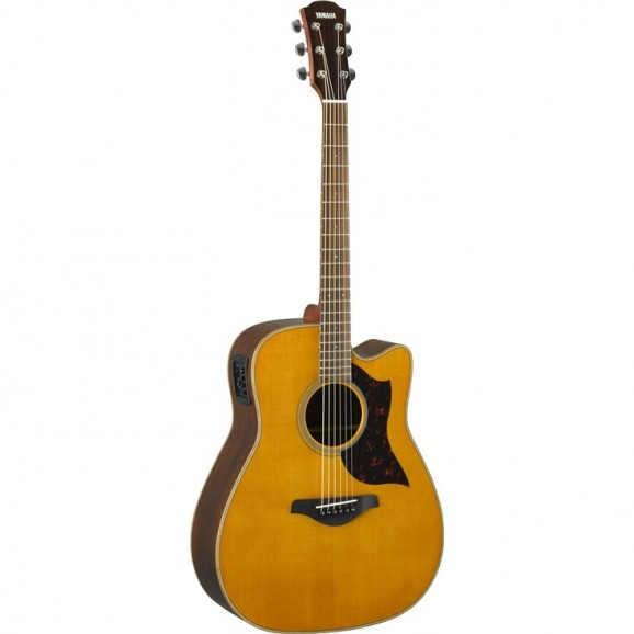 Yamaha A1M Acoustic Electric Guitar - Vintage Natural