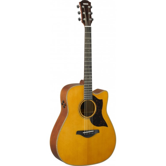 Yamaha A3M ARE Dreadnought Acoustic Electric Guitar - Vintage Natural