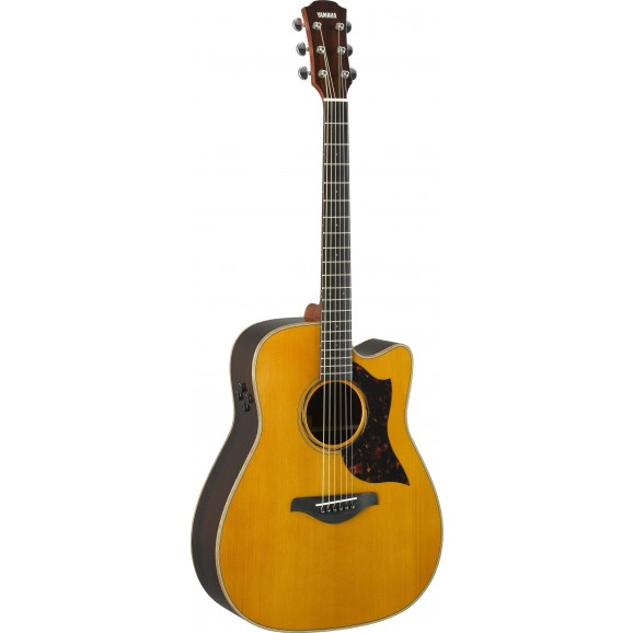 Yamaha A3R ARE Dreadnought Acoustic Electric Guitar - Vintage Natural
