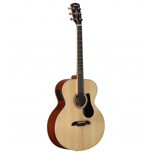 Alvarez ABT60E Acoustic Electric Baritone Guitar in Natural