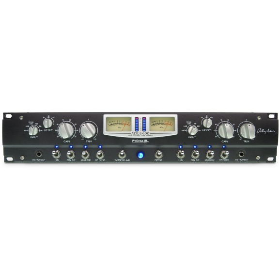 ADL600 High Voltage 2 CH Tube Mic Preamp