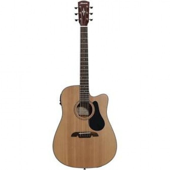 Alvarez Acoustic /Electric Guitar with Cutaway in Natural
