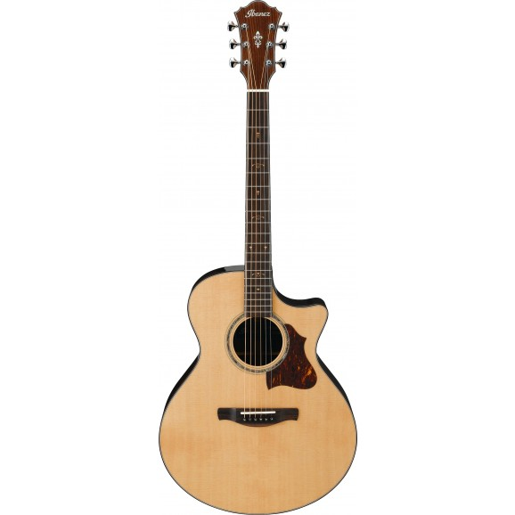 Ibanez -  AE900 NT Acoustic Guitar - Natural High Gloss - 2019